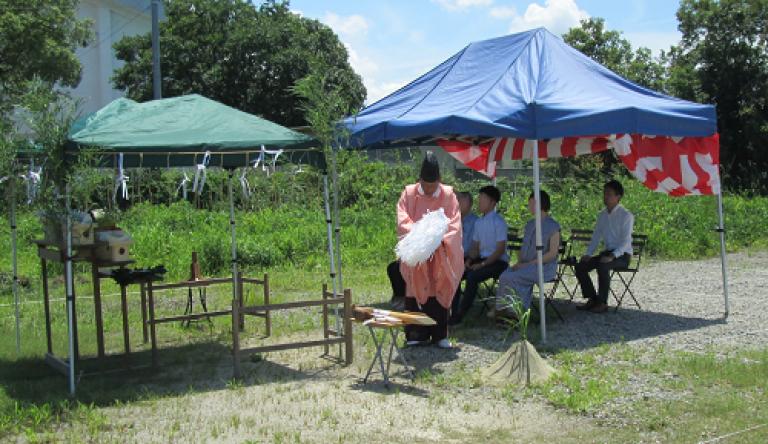image K様邸地鎮祭/佐賀県