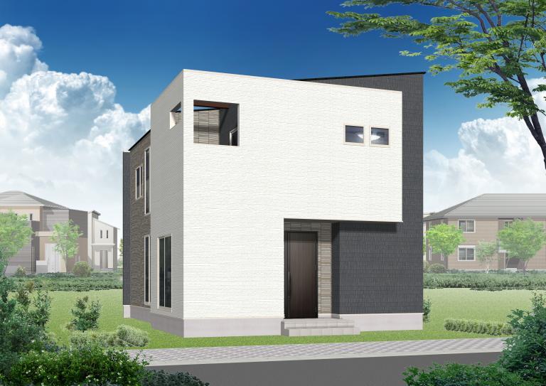 image モデルハウス進捗/久留米市上津町