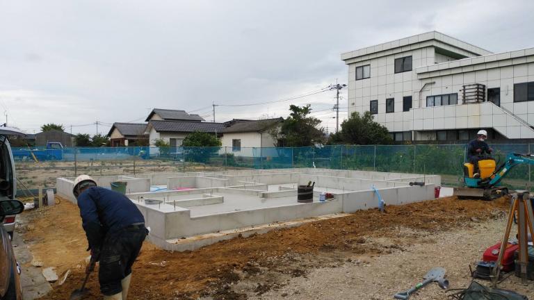 image 三潴モデルハウス 工事進捗