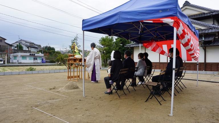 image S様邸地鎮祭/佐賀県三養基郡